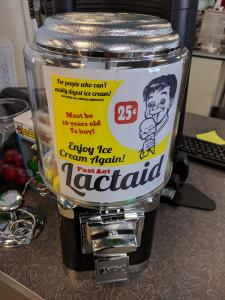Lactaid Vending Machine
