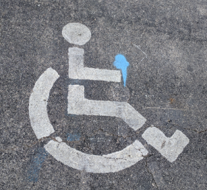 Handicapped Parking.
